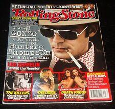 ROLLING STONE magazine 2007 Hunter S. Thompson, Led Zeppelin, Kanye West 50 Cent