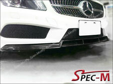 W176 BS Style Carbon Fiber Front Lip Spoiler For 13-14 A180 A250 AMG / A45 CF