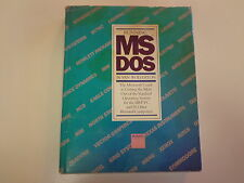 Running MS DOS by Van Wolverton 1984 HBDJ  Early Microsoft Guide
