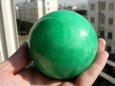 AAA+++ 80MM Glow In The Dark Stone crystal Fluorite sphere ball+stand