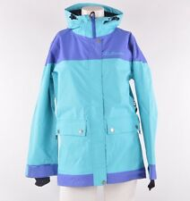2013 NWT WOMENS AIRBLASTER FREEDOM SNOWBOARD JACKET $190 XS turquoise *