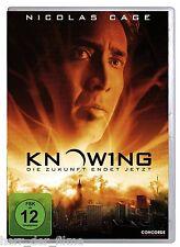 KNOWING, Die Zukunft endet jetzt (Nicolas Cage) NEU+OVP