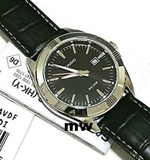 NEW CASIO BIG FACE DATE MEN BLACK LEATHER DRESS EASY TO READ WATCH MTP-1308L-1A