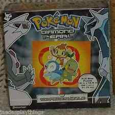 Pressman Pokemon Diamond & Pearl 100 Pc Puzzle New Sealed FREE US Shipping
