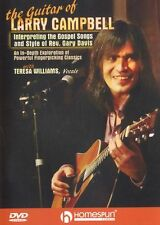 Larry Campbell Interpreting Gospel Songs Reverend Gary Davis Guitar Music DVD