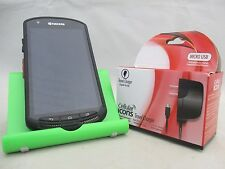 GOOD US CELLULAR KYOCERA DURAFORCE E6762 ANDROID TOUCH WATERPROOF RUGGED FREE SP