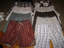 "MENS-36"" SHORTS LOT 10-CARGO/CASUAL/SWIM/BOARD SHORTS LOT-MENS L-36"" SHORTs LOT"