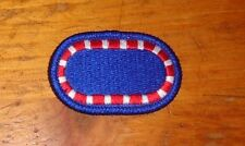 ARMY PATCH, PARACHUTE BACKGROUND OVAL, 127TH ENGINEER BN, NEW