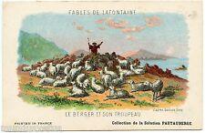 CONTES. STORY. FABLES DE LAFONTAINE. LE BERGER ET SON TROUPEAU.