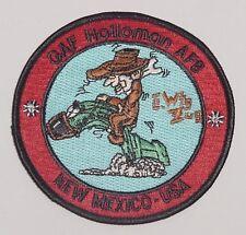 Luftwaffe Aufnäher Patch GAF Holloman AFB New Mexico - USA TORNADO ........A4983