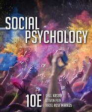 Social Psychology by Steven Fein, Saul Kassin