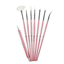 Winstonia GLAM GADGET Brushes Kit Dotter Liner Detailer Pen Nail Art Craft Cake