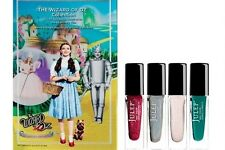 NEW! Julep WIZARD OF OZ nail polish set RUBY SLIPPERS GLINDA TIN MAN EMERALD