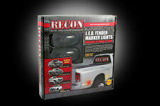 Recon SMOKED LED Dually Fender Lights For Dodge RAM 2003-2009 # 264131BK