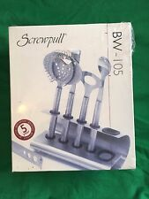 Screwpull BW-105 Stainless Steel 6-piece Bar Tool Set New