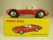 DINKY TOYS MADE IN FRANCE No. 22A MASERATI SPORT 2000 -1950's ORIG BOX-GORGEOUS!