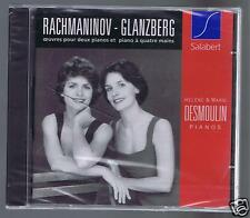 H & M DESMOULIN CD NEW RACHMANINOV / GLANZBERG / WORKS FOR 2 PIANOS
