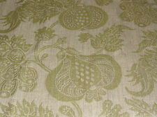 "SANDERSON ""CHINA BLUE WEAVE"" 2.2 metre designer upholstery curtain fabric GREEN"