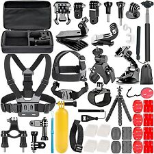 Neewer 58-In-1 Action Camera Accessory Kit for GoPro Hero Session/5 Hero 1 2 ...