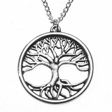 St Justin Pewter Tree of Life Pendant Necklace PN810 British Made