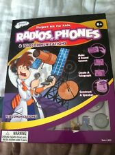Radios, Phones And Telecommunications Project Kit For Kids New Sciene Fair