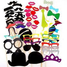Playful 58X Photo Booth Prop DIY Masks Wedding Birthday Party for Kids SK