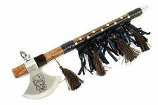 """19"""" Tomahawk Hatchet Indian Axe Pipe - [8412]"""