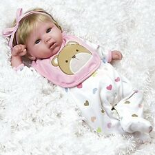 Paradise Galleries Lifelike Realistic Soft Vinyl Weighted 48cm Reborn Baby Girl