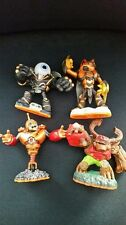 Skylanders giants - 4 usados (Bouncer, Eye-Brawl, Swarm, Tree Rex)