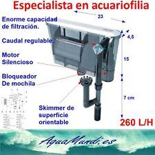 filtro de mochila cascada exterior externo xp11 260 L/H silencioso