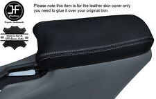 GREY STITCHING LEATHER ARMREST COVER FITS HONDA INSIGHT 2009-2013