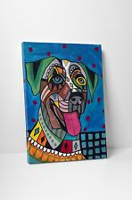 """Heather Galler Catahoula Dog Gallery Wrapped Canvas 16""""x20"""""""