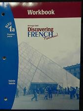 Discovering French Nouveau! Bleu 1a by Valette Staff (2005, Paperback)