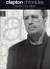 Eric Clapton Chronicles TAB Guitar Music Book - Best Of