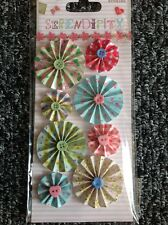 Serendipity Accordion Stickers -  Card Making / Scrapbooking Embellishments