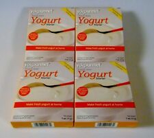 Yogourmet Yogurt Starter (4 Boxes) 1 Oz Per Box Freeze-Dried