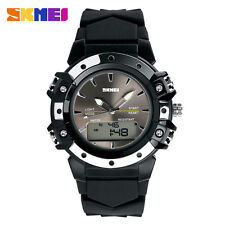 Skmei 821 G - Shock & Waterproof PU Steel Unisex Digital Sports Wrist Watch