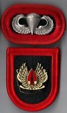 ARMY SPECIAL OPERATIONS COMMAND -  FLASH,  DI CREST, OVAL, JUMP WINGS