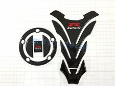 Real Carbon Firber GSX-R 1000 750 600 Protector Decal Fuel Tank Gas Pad Sticker