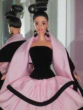 Mattel Barbie ESCADA DESIGNER DOLL Brunette Limited Ed #15948 ~ Pink Gown