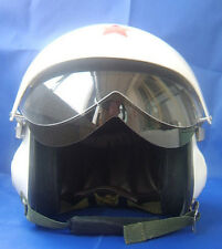 Neu Motorradhelm Rollerhelm Jethelme Luftwaffe Piloten Helm Weiß S M L XL