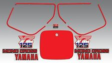 YAMAHA 1986 YZ125 YZ 125 WICKED TOUGH DECAL GRAPHIC KIT LIKE NOS