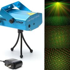 Mini Projector R&G DJ Disco Light Stage Christmas Party Laser Lighting Show