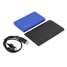 """New USB 2.0 480Mbps Enclosure Case Box for Laptop 2.5"""" SATA Hard Drive BG"""