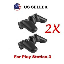 New 2X BLACK Wireless Bluetooth Game Controller for SONY Playstation3 PS3 by MR*