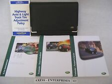 02 2002  Land Rover Freelander S SE HSE Owners Operators Manuals Books Set B115