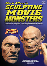 Sculpting Movie Monsters dvd how-to sculpture instruction by Mark Alfrey