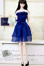 Momoko MMK Doll Outfit Blue Tube Dress