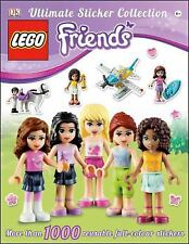 LEGO Friends: Ultimate Sticker Collection Book: 1000 Reusable Stickers NEW