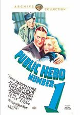 Public Hero Number One # 1 DVD 1935 Lionel Barrymore, Jean Arthur Chester Morris